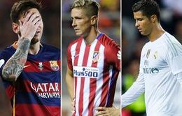 Messi, Ronaldo và Torres lọt top 12 cầu thủ sút hỏng penalty nhiều nhất La Liga