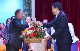 Mít tinh kỷ niệm 39 năm Ngày thành lập Mặt trận Đoàn kết Cứu quốc Campuchia