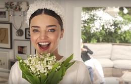 Hậu trường ảnh cưới của Miranda Kerr - Những khoảnh khắc đẹp đến khó tin