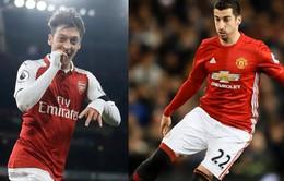Mourinho có thể bán Mkhitaryan để đón Ozil