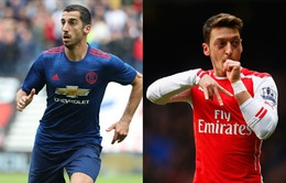 Man Utd và Arsenal tính tráo đổi sao khủng