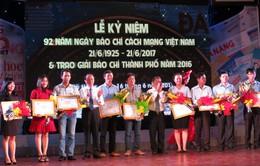 Đà Nẵng trao Giải Báo chí kỷ niệm Ngày Báo chí Cách mạng Việt Nam