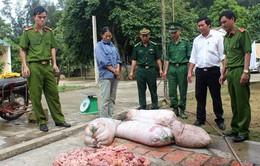 Bắt vụ vận chuyển 200kg mỡ thối tại Hà Tĩnh