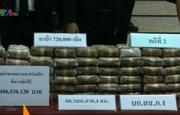 Thái Lan bắt giữ nhiều đối tượng buôn bán ma túy