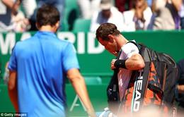 Monte Carlo Masters 2017: Andy Murray dừng bước tại vòng 3