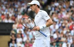 Vòng 1 Wimbledon 2017: Andy Murray khởi đầu thuận lợi