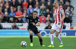 VIDEO Stoke City 2-2 Manchester United: Quỷ đỏ chia điểm trên sân khách