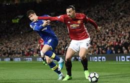 Kết quả bóng đá châu Âu sáng 5/4: Man Utd 1-1 Everton, Hoffenheim 1-0 Bayern Munich, Roma 3-2 Lazio