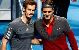 Murray lên lịch đấu Federer vào cuối năm
