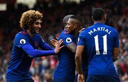 Vòng 29 ngoại hạng Anh: Middlesbrough 1-3 Man United: Valdes sai lầm, Man Utd thoát khỏi vị trí thứ 6