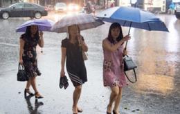 Miền Trung mưa trở lại, một số khu vực mưa dông trên diện rộng