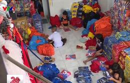 Đăk Lăk: Trẻ em nghèo bị dụ dỗ đi lao động tại các xưởng may