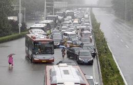 Trung Quốc: Hàng trăm chuyến bay tại Bắc Kinh bị hoãn do mưa bão
