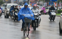 Bắc và Trung Trung Bộ có mưa vừa, mưa to