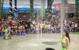 Công viên nước Đầm Sen bị phạt 45 triệu đồng vì múa phản cảm