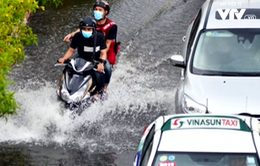 TP.HCM ngập nặng sau cơn mưa lớn
