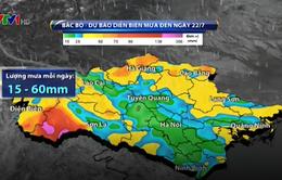 Cảnh báo xảy ra lũ quét trên các sông