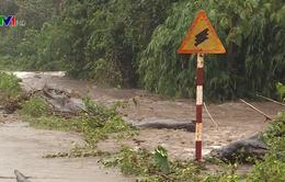 Khẩn trương ứng phó mưa lũ sau bão số 7