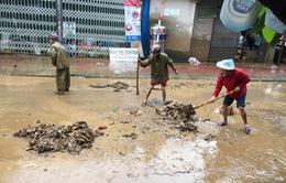 Gần 90% hộ dân chưa khắc phục xong hậu quả mưa lũ