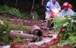 Khắc phục thiệt hại do mưa lũ tại Định Hóa, Thái Nguyên