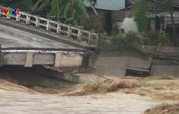 Yên Bái huy động 2.400 người tham gia khắc phục hậu quả mưa lũ