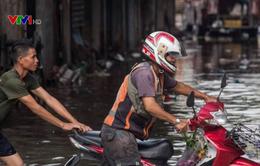 Thái Lan: Mưa lớn, Bangkok ngập úng diện rộng