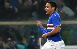 Everton sẵn sàng kích hoạt điều khoản phá vỡ hợp đồng của Luis Muriel