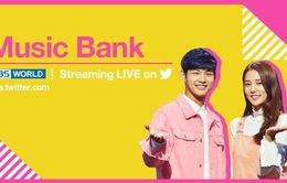 KBS phát sóng trực tiếp Music Bank trên Twitter