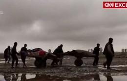 Cuộc chiến chống IS trên không - Những gương mặt không lộ diện