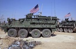 Mỹ triển khai quân và xe bọc thép trên biên giới Thổ Nhĩ Kỳ - Syria