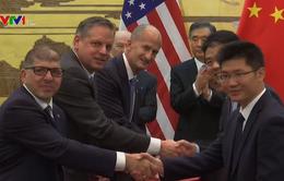 Mỹ - Trung Quốc tăng cường hợp tác thương mại