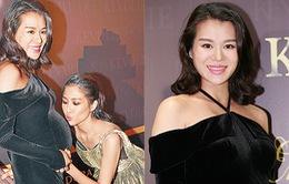 Mang bầu 8 tháng vẫn nhiệt tình làm việc, Hồ Hạnh Nhi khiến chồng lo lắng
