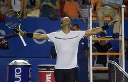 Bán kết Acapulco 2017: Nadal thắng nhàn Cilic