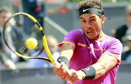 Vòng 2 Madrid mở rộng 2017: Nadal giành thắng lợi vất vả trước Fognini
