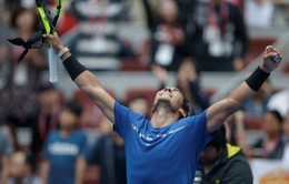 Thắng nghẹt thở Dimitrov, Nadal vào chung kết giải quần vợt Trung Quốc mở rộng 2017