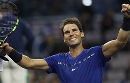 Vượt qua Fognini, Nadal thẳng tiến vào tứ kết Thượng Hải Masters 2017