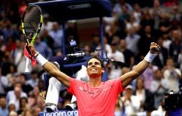 Mỹ mở rộng 2017: Vùi dập hiện tượng Andrey Rublev, Rafael Nadal giành quyền vào bán kết
