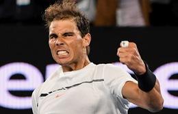 Australia mở rộng 2017: Vượt qua Raonic, Nadal giành vé vào bán kết