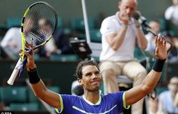 Nadal tốc hành vào vòng 4 Pháp Mở rộng