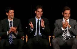 Nadal ngán ngẩm vì sinh cùng thời với Federer và Djokovic