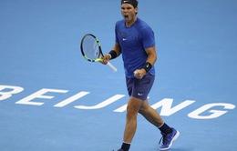 Thắng dễ Khachanov, Nadal gặp Isner tại tứ kết Trung Quốc mở rộng 2017