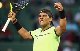 Không phải vị trí số 1 thế giới, đây mới là mục tiêu của Nadal trong năm 2018