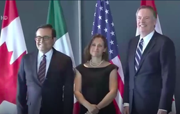 Mỹ, Canada và Mexico tìm được tiếng nói chung ở nhiều vấn đề trong NAFTA
