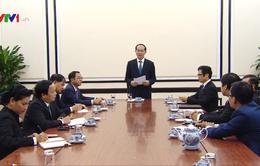 Chủ tịch nước Trần Đại Quang yêu cầu đẩy mạnh công tác chuẩn bị Năm APEC 2017