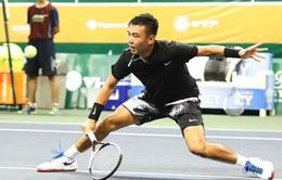Lý Hoàng Nam dừng bước tại nội dung đánh đôi giải quần vợt Việt Nam Mở Rộng 2017
