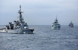 NATO diễn tập chống tàu ngầm ở Địa Trung Hải