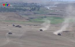 NATO tập trận bắn đạn thật ở Gruzia