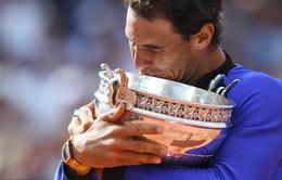 Vô địch Pháp mở rộng, Nadal hoán đổi vị trí với Djokovic