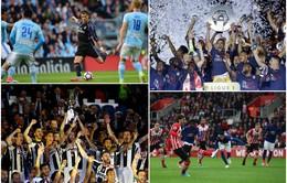 Kết quả bóng đá châu Âu rạng sáng 18/5: Real Madrid đại thắng, Juventus và Monaco lên ngôi vô địch