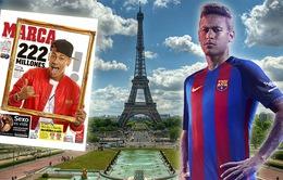 Báo Pháp loan tin PSG có Neymar trong 48 giờ tới